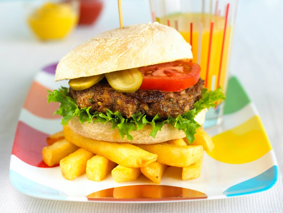 Top 10 meals to make for picky eaters - Healthier Hamburgers Recipe by Annabel Karmel