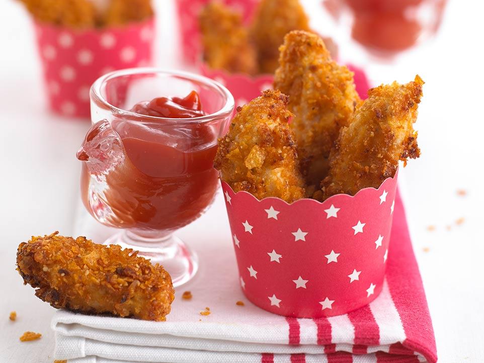 Krispie Chicken Nuggets Annabel Karmel