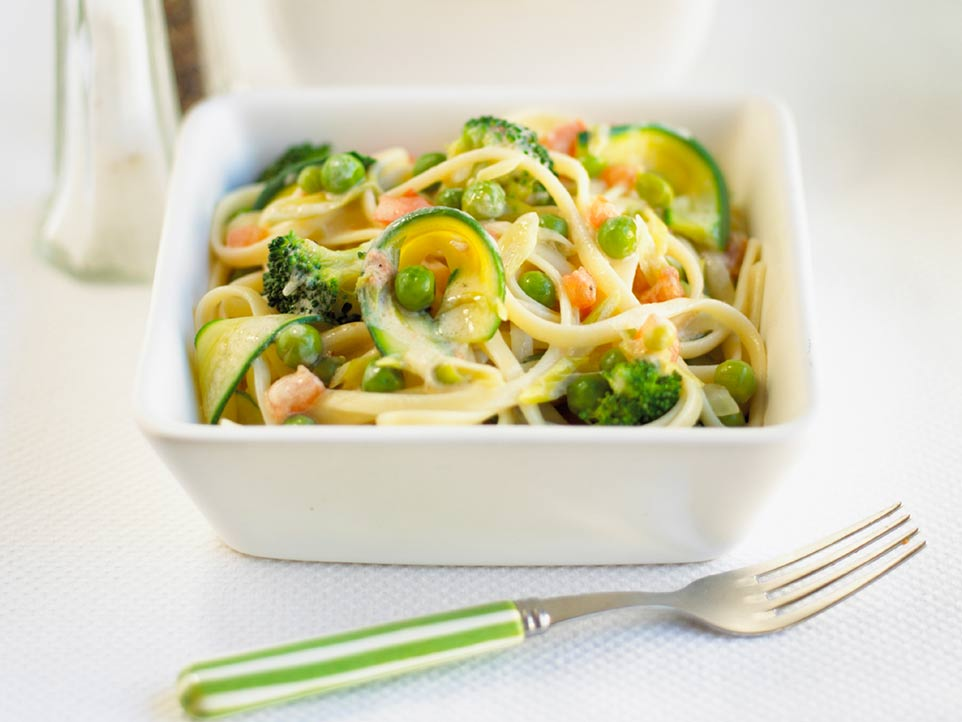 spaghetti primavera recipe by annabel karmel