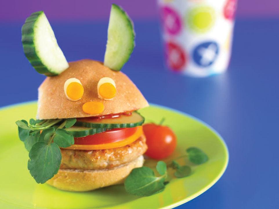 Chicken Burger | Annabel Karmel