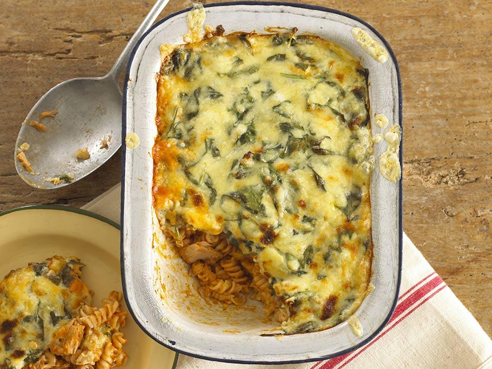 Tuna Pasta Bake Recipe Image by Annabel Karmel