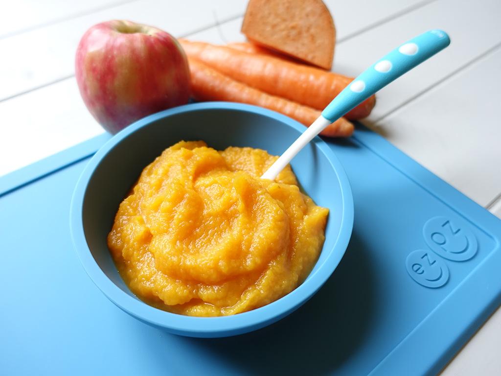 Carrot Apple Amp Sweet Potato Annabel Karmel