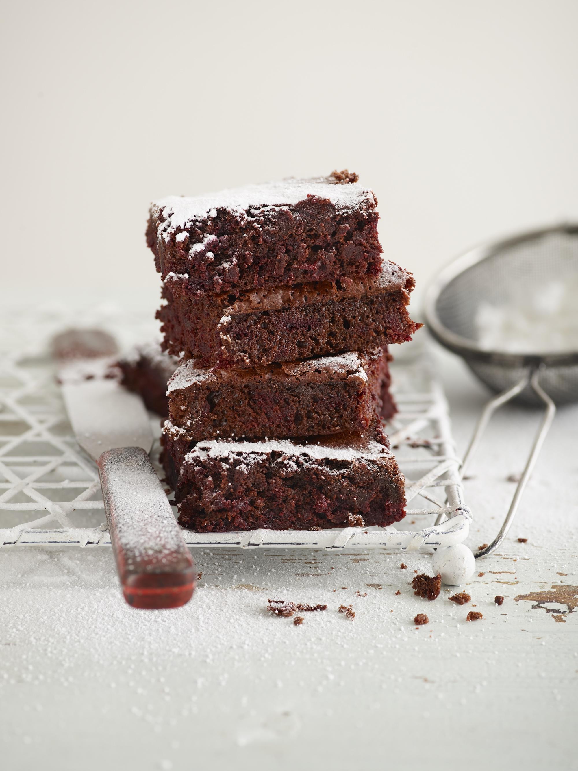 Chocolate beetroot brownies recipe by annabel karmel
