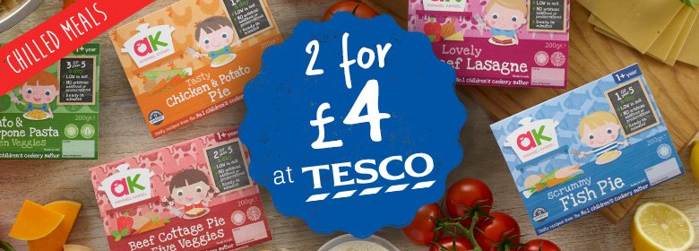 Chilled Meals 2 For 4 At Tesco Annabel Karmel