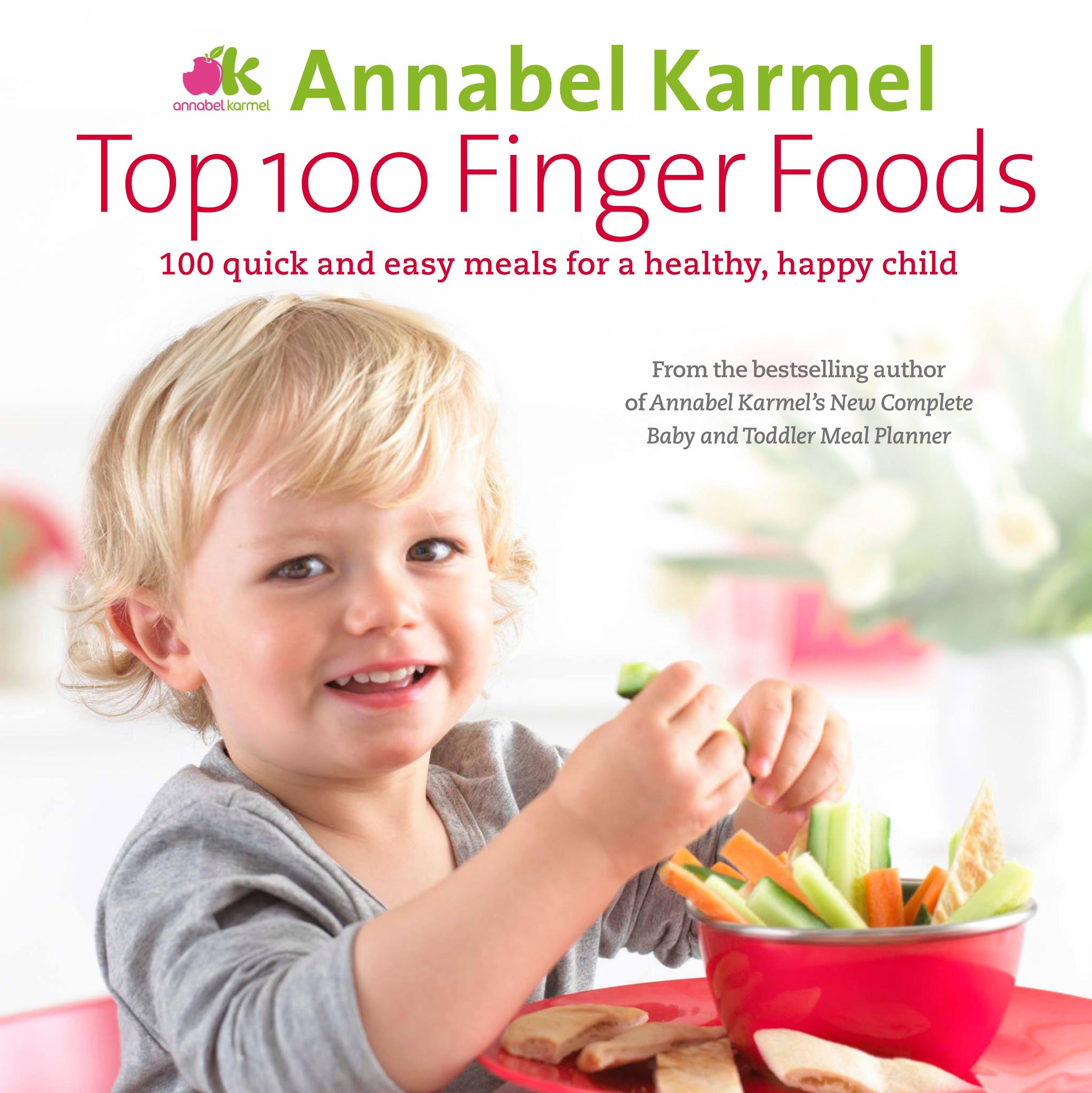 Top 100 finger foods | Annabel Karmel