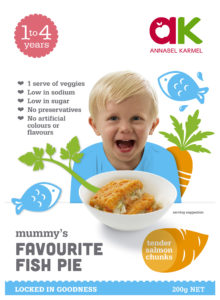 Favourite Fish Pie Pie Snap-frozen meals for babies and toddlers by Annabel Karmel