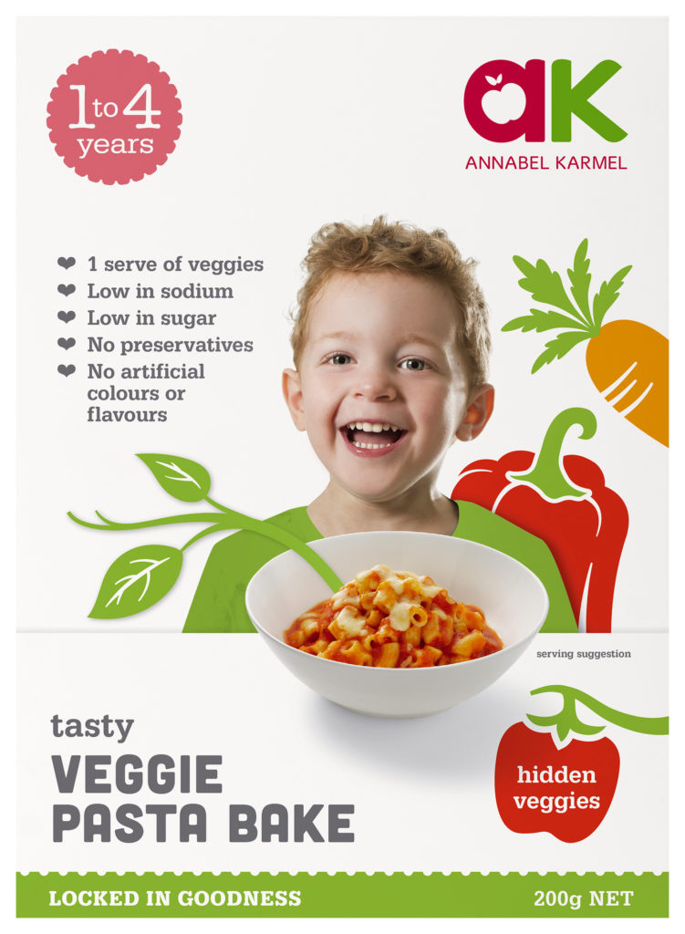 Tasty Veggie Pasta Bake ready meal by Annabel Karmel