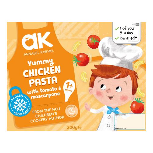Yummy Chicken Pasta Frozen Meal by Annabel Karmel