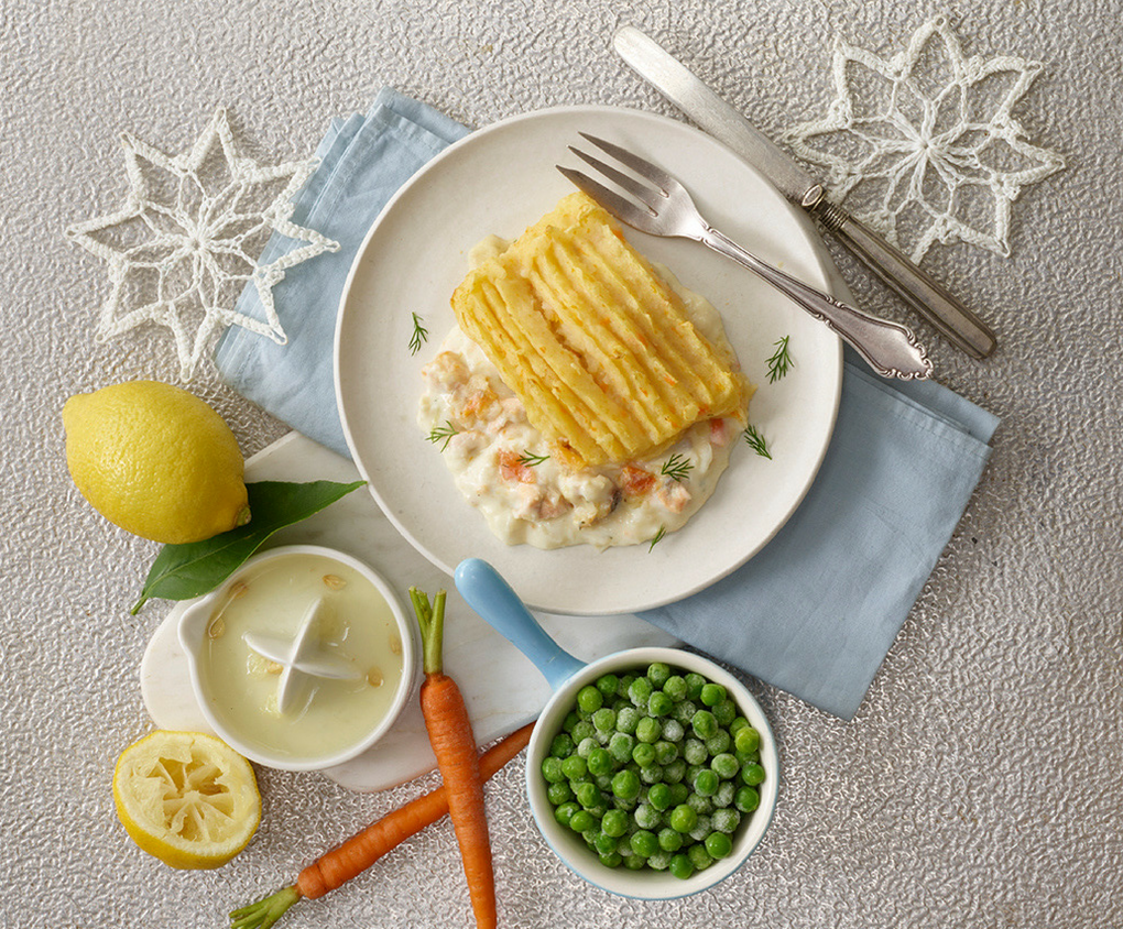 Fish Pie Frozen Toddler Food