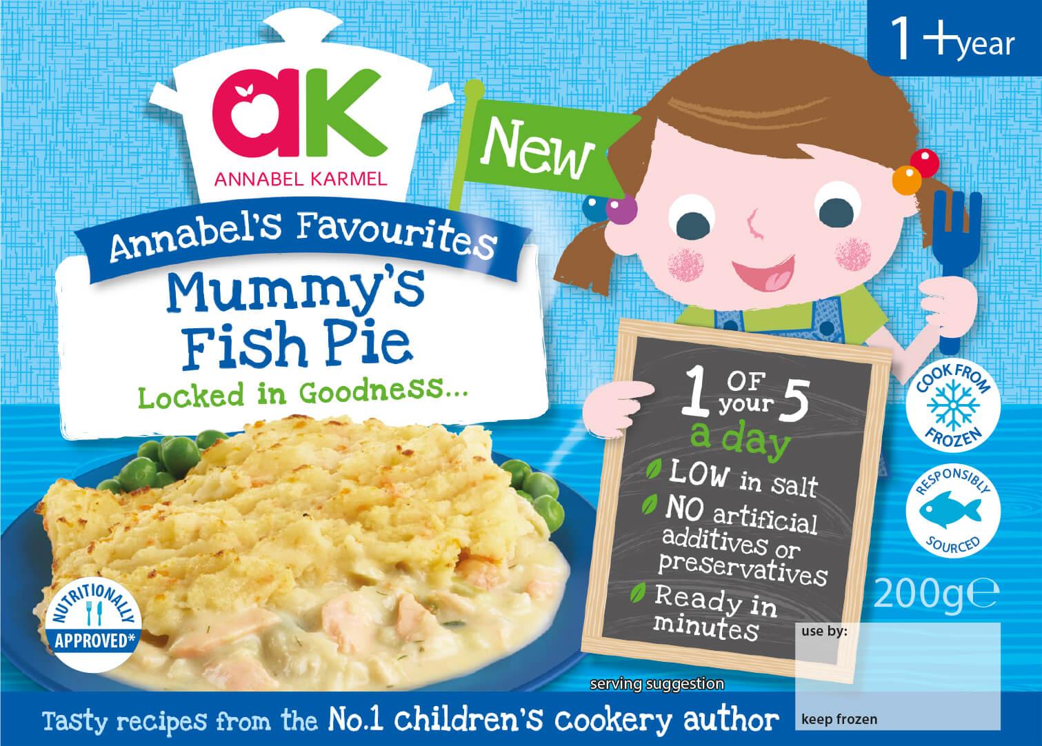 Mummy s fish pie annabel karmel for Best frozen fish