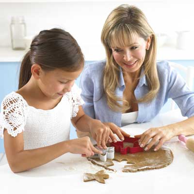 Tips for baking cooking with children