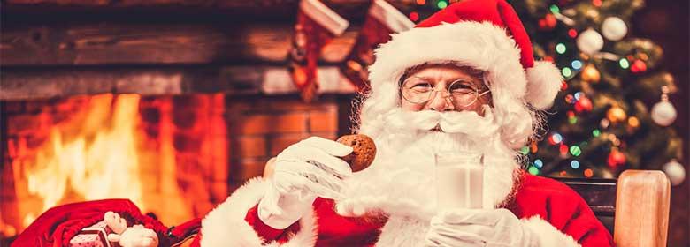 Food for santa and raindeer