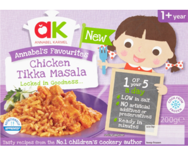 Chicken Tikka Masala Ready Meal - Annabel Karmel