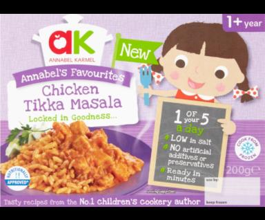 Chicken Tikka Masala Ready Meal - Annabel Karmel