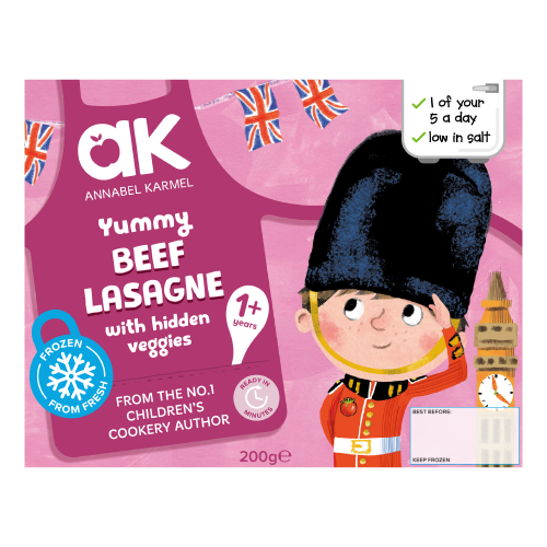 Frozen Yummy Beef Lasagne Toddler Meal by Annabel Karmel