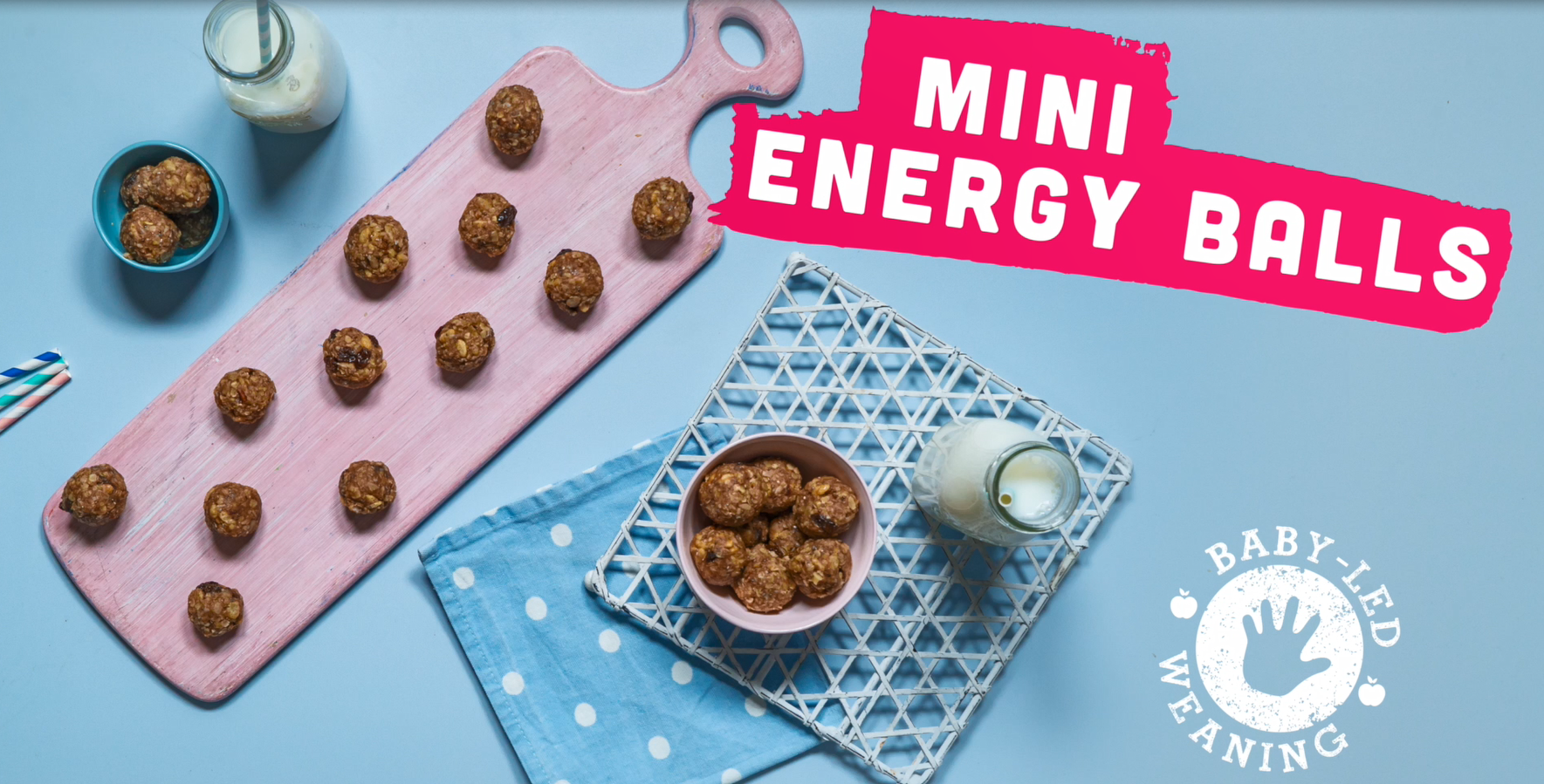 Mini Energy Balls - Recipe Video - Annabel Karmel