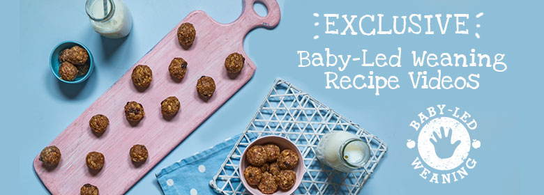 Baby led weaning video recipes