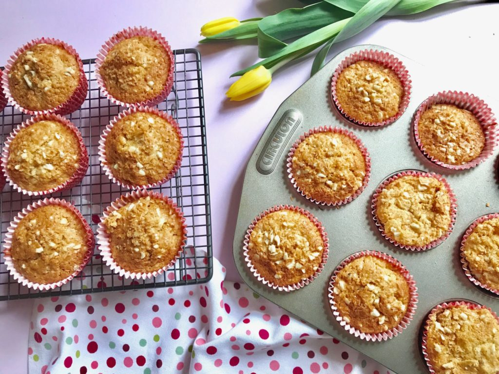 dairy free muffins with apricot, carrot and coconut annabel karmel