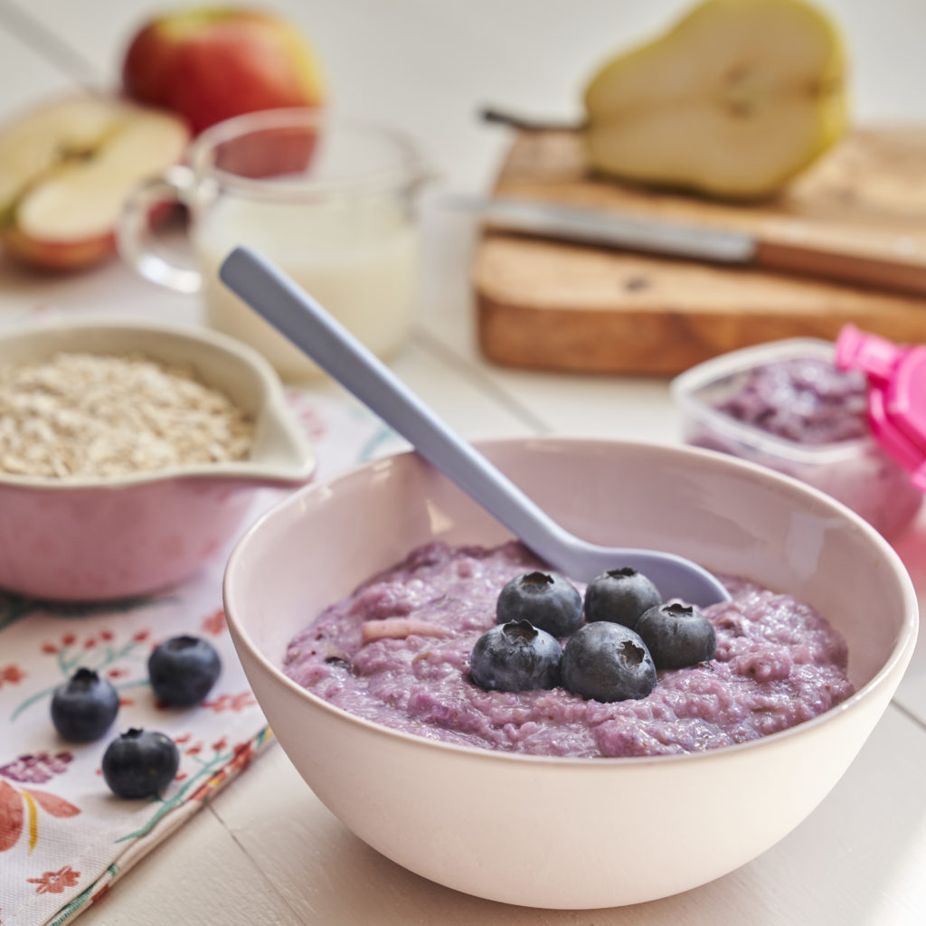 Purple Porridge recipe by Annabel Karmel