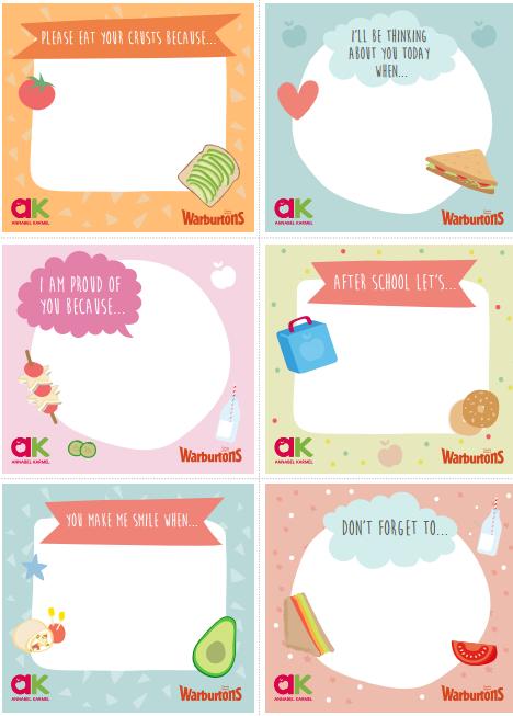 Annabel Karmel - Lunchbox notes