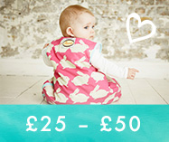 Baby Shower Gifts<br>£25 – £50