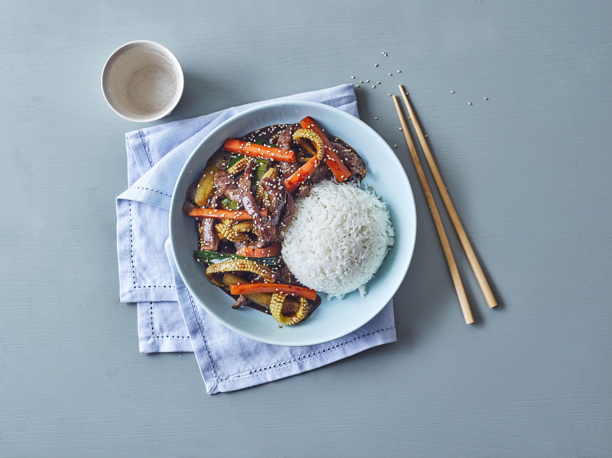 sizzling beef stir fry recipe by annabel karmel
