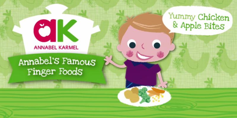 Finger Foods, chicken and apple balls, Annabel Karmel