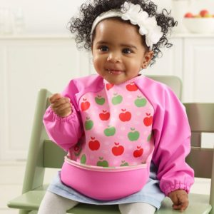 Pink Long Sleeve Bib