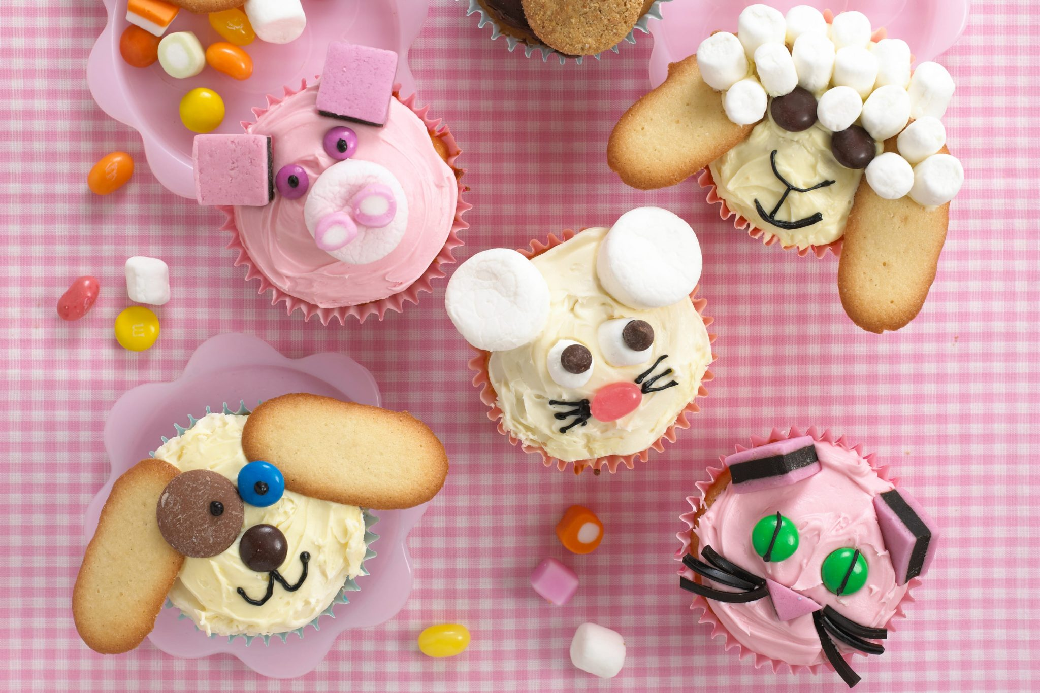 Animal cupcakes recipe by Annabel Karmel