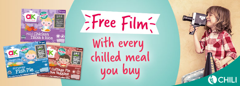Free Movie With Every Chilled Toddler Meal Annabel Karmel