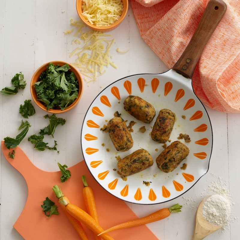Sweet Potato & Kale Croquettes Recipe by Annabel Karmel