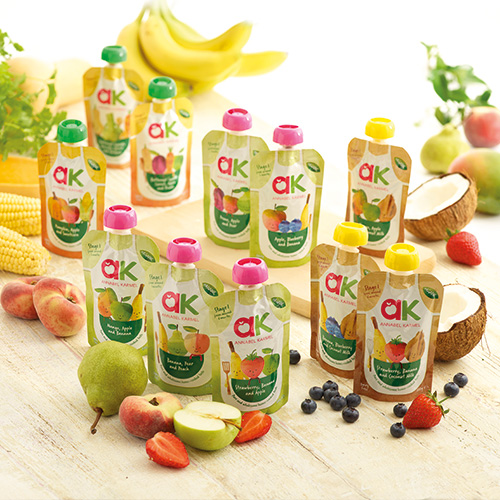 Organic Baby Purees