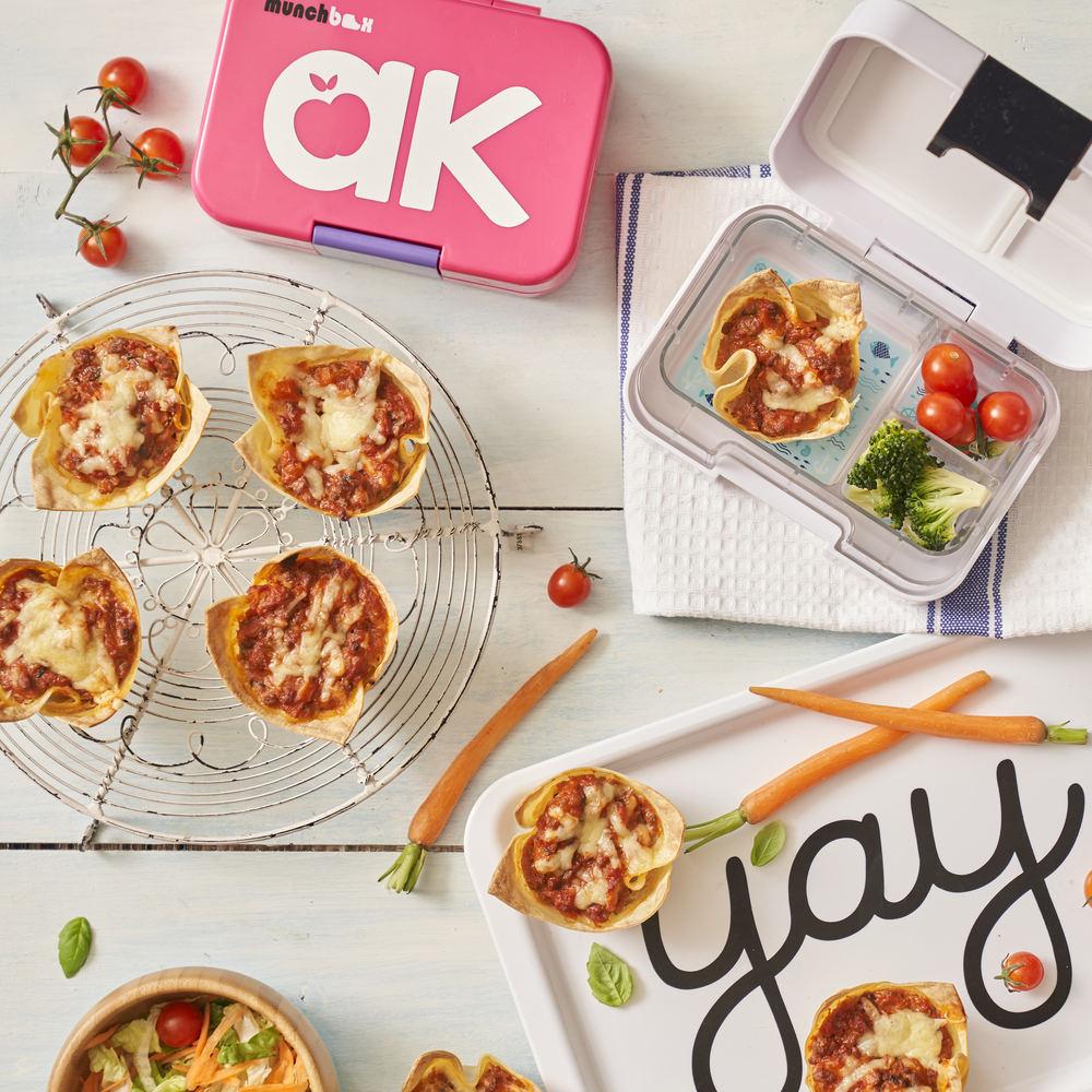 Lunchbox Lasagne Bites
