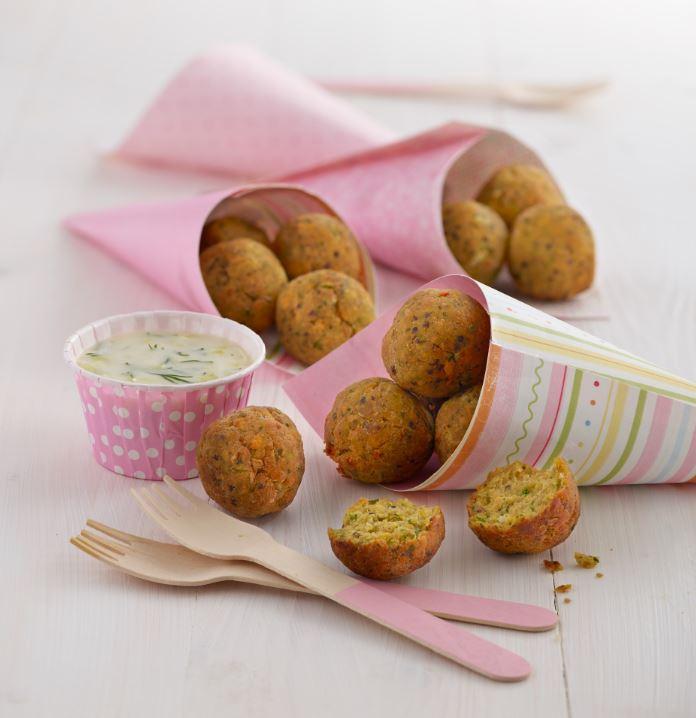 cod and salmon quinoa balls recipe by Annabel karmel