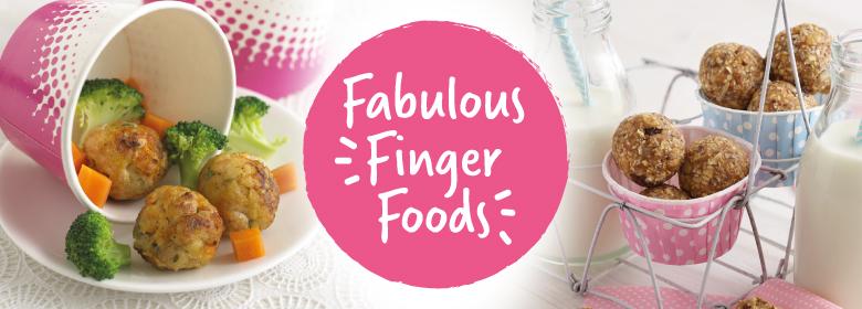 finger food recipes by annabel karmel