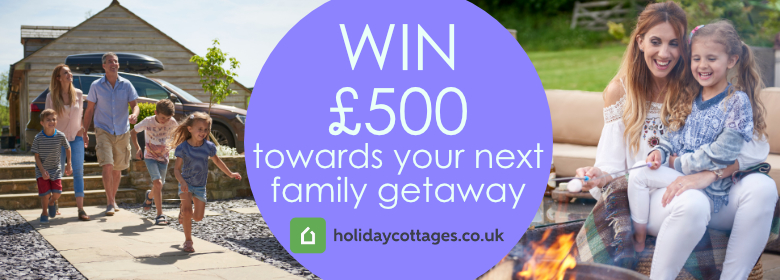 Win £500 towards your next family holiday with Holiday Cottages
