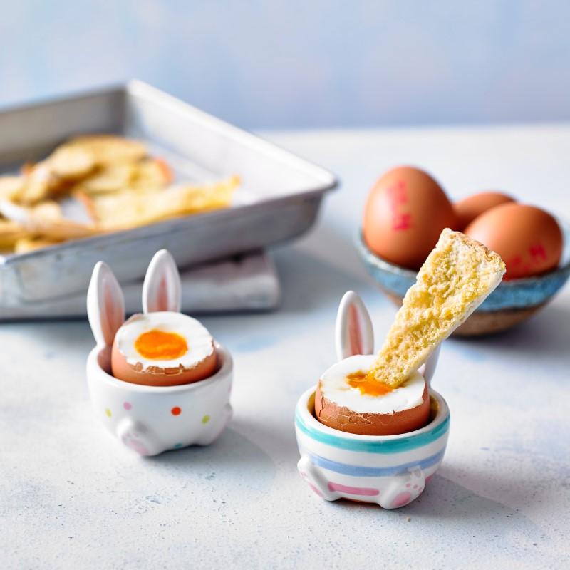 Advice on runny eggs by Annabel Karmel