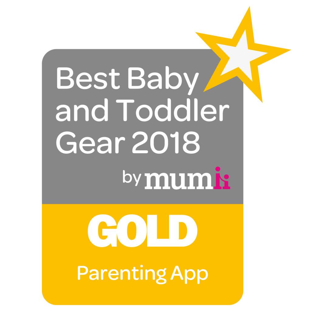 Best Baby & Toddler Gear - Gold Award - Best Parenting App