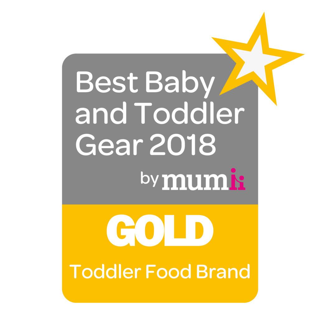 Best Baby & Toddler Gear - Gold Award - Best Toddler Food Brand