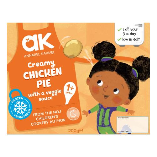 Creamy Chicken Pie Frozen Meal by Annabel Karmel