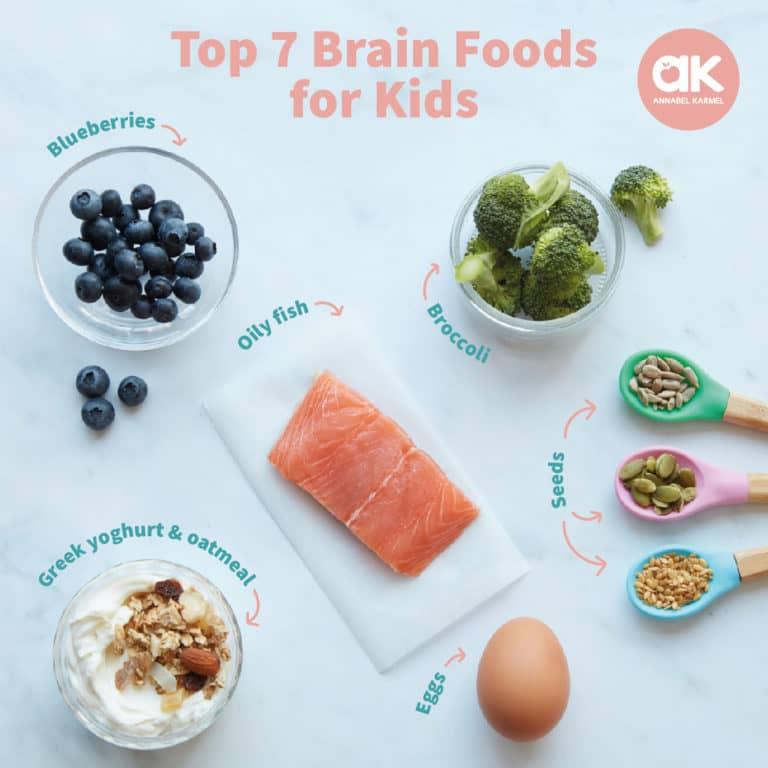 Foods to boost your child's brainpower | Annabel Karmel