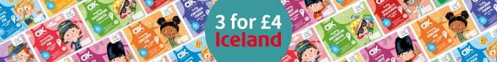 Iceland Frozen 3 for £4 – leaderboard