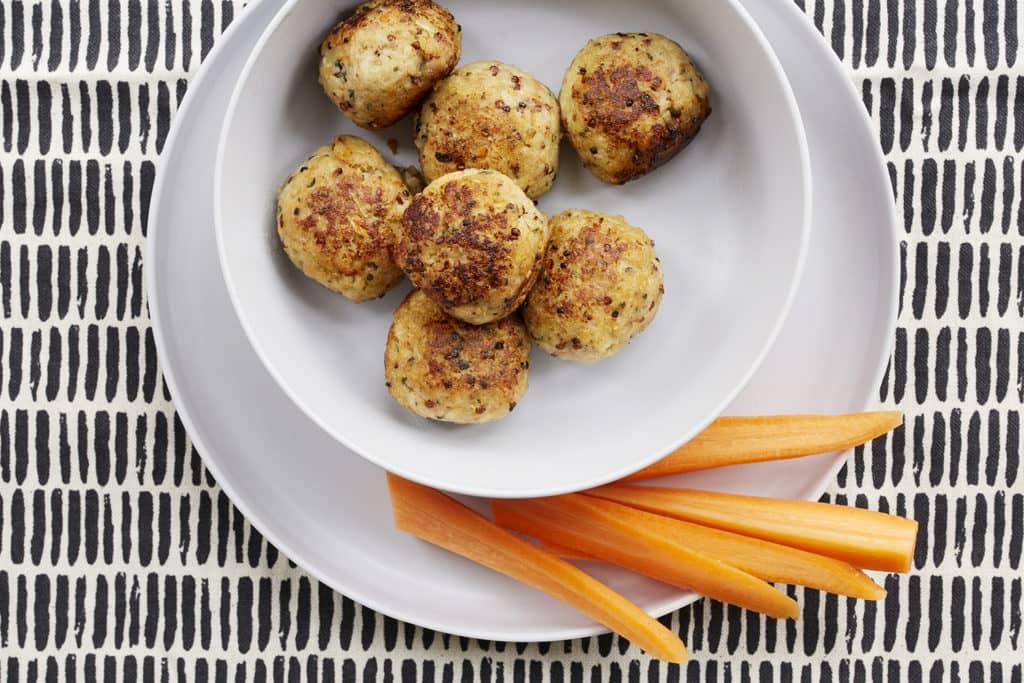 Chicken, Quinoa, Apple & Sage Balls