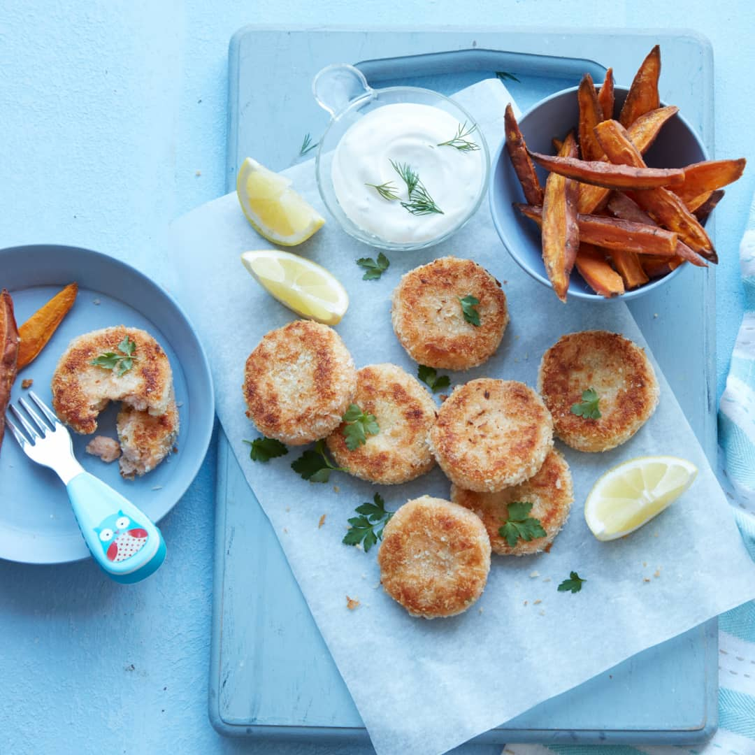 Salmon Fish Cakes Recipe by Annabel Karmel
