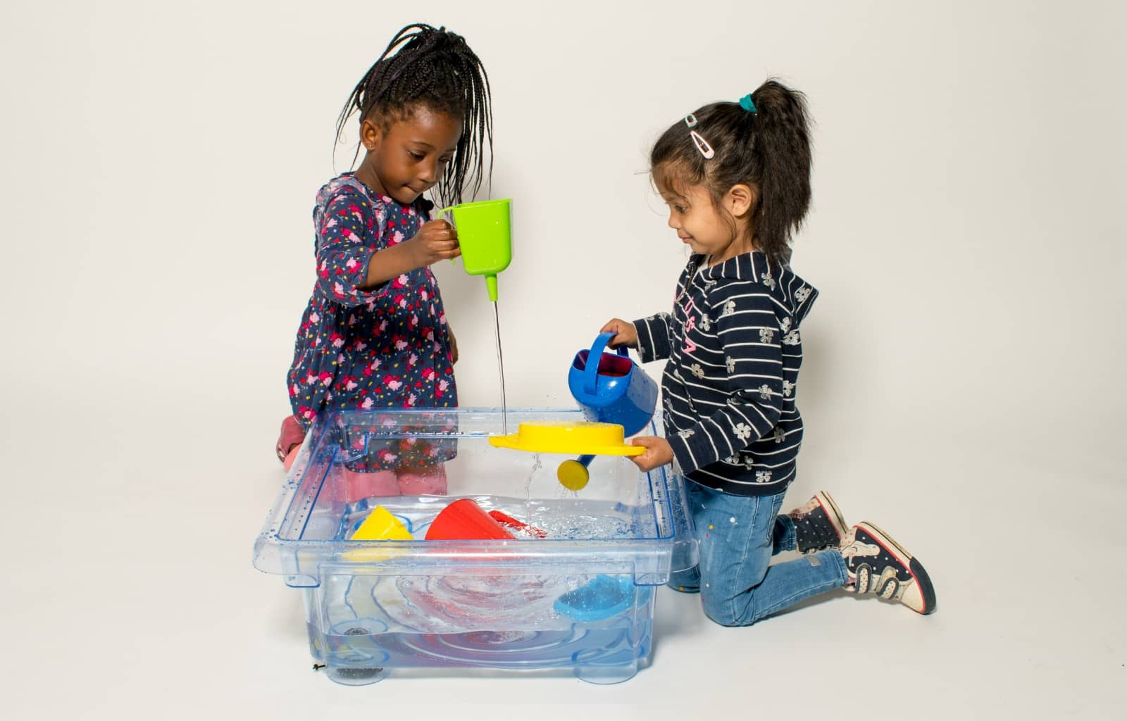 messy play with water by Annabel Karmel