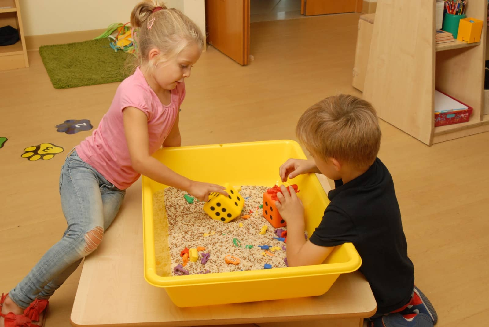 Messy play with sand by Annabel Karmel