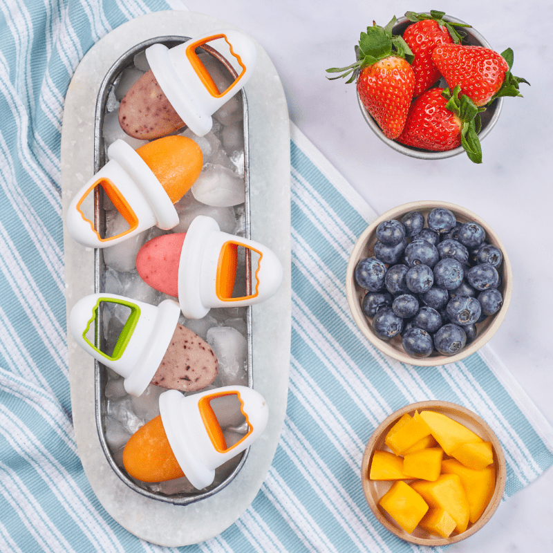 Ice Lollies 3-Ways Recipe by Annabel Karmel