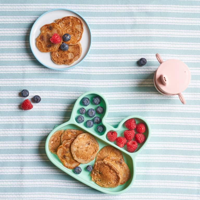 Apple, Cinnamon & Sultana Pancakes Recipe by Annabel Karmel