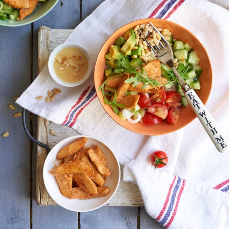 Paprika Chicken Nourish Bowl Recipe by Annabel Karmel