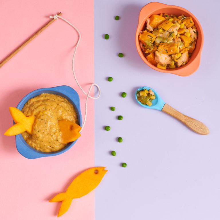 Super Salmon Puree Recipe by Annabel Karmel